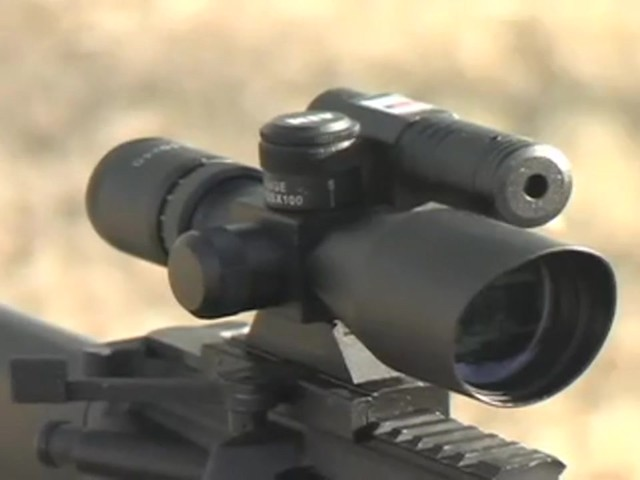 AIM Sports® Green Laser Scope Matte Black - image 3 from the video