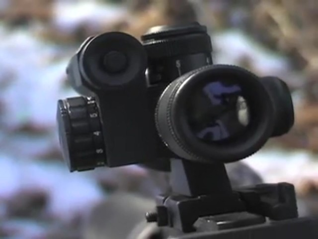 AIM Sports® Green Laser Scope Matte Black - image 5 from the video