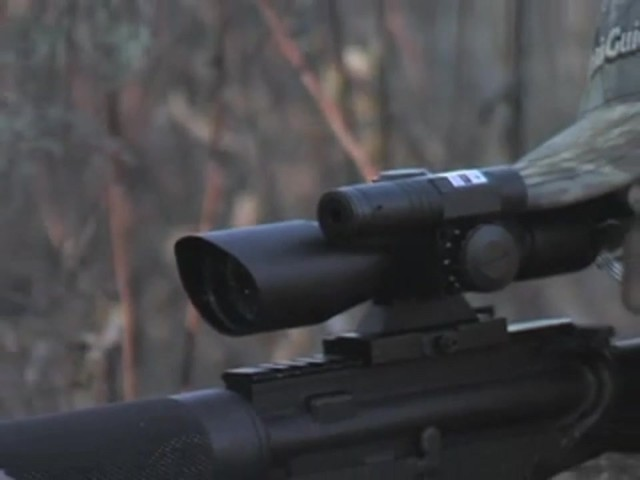 AIM Sports® Green Laser Scope Matte Black - image 7 from the video