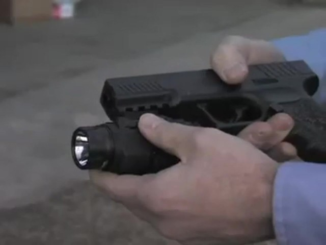 BEAMSHOT® Red Laser / Flashlight Combo Matte Black  - image 3 from the video