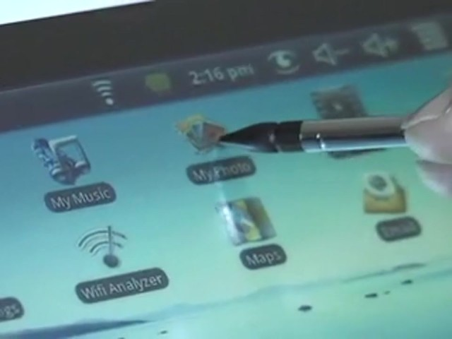 Touch Screen WiFi Tablet Computer  - image 8 from the video