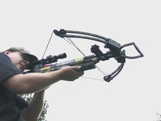 Carbon Express® X - Force™ 850 Crossbow Kit with BONUS Universal Cocking Harness  - image 1 from the video