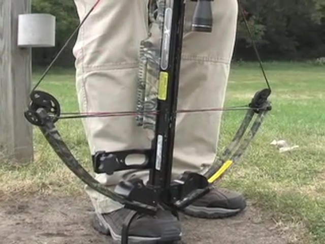Carbon Express® X - Force™ 850 Crossbow Kit with BONUS Universal Cocking Harness  - image 3 from the video