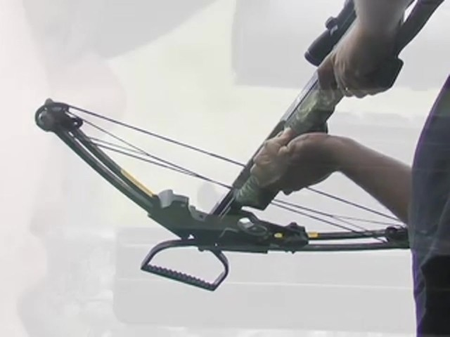 Carbon Express® X - Force™ 850 Crossbow Kit with BONUS Universal Cocking Harness  - image 6 from the video