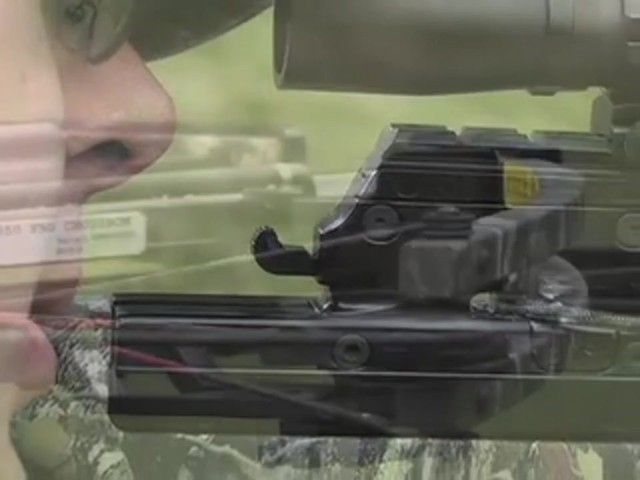 Carbon Express® X - Force™ 850 Crossbow Kit with BONUS Universal Cocking Harness  - image 7 from the video