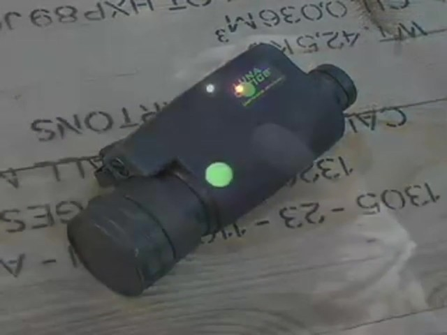 Luna Optics™ 5X Night Vision Monocular - image 1 from the video