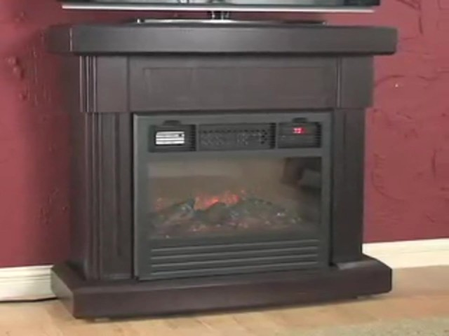 RedCore™ Remote - controlled Infrared Fireplace  - image 1 from the video