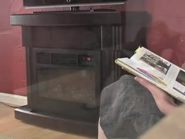 RedCore™ Remote - controlled Infrared Fireplace  - image 6 from the video