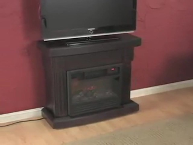 RedCore™ Remote - controlled Infrared Fireplace  - image 7 from the video