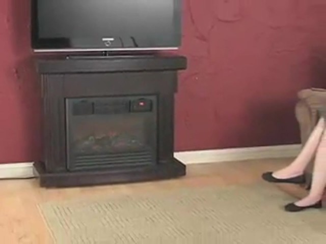 RedCore™ Remote - controlled Infrared Fireplace  - image 8 from the video