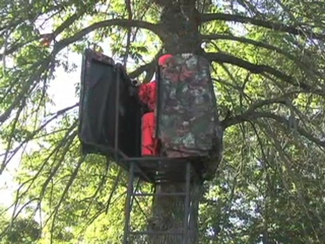 Rivers Edge® Opening Day™ Ladder Tree Stand - image 5 from the video
