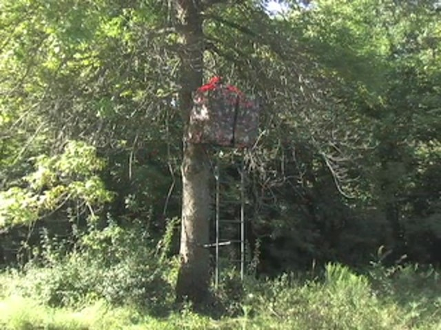 Rivers Edge® Opening Day™ Ladder Tree Stand - image 9 from the video