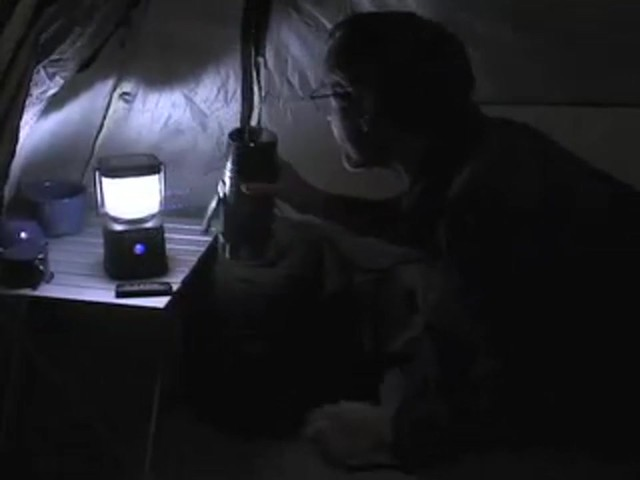 Guide Gear® 300 - lumen Remote - controlled LED Lantern - image 3 from the video