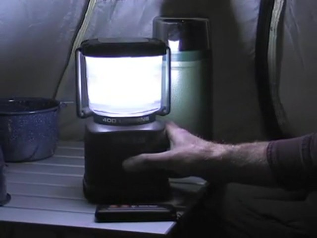 Guide Gear® 300 - lumen Remote - controlled LED Lantern - image 8 from the video
