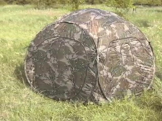 Primos® Predator® Deception™ Excursion Camo Ground Blind  - image 10 from the video