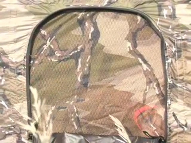 Primos® Predator® Deception™ Excursion Camo Ground Blind  - image 6 from the video