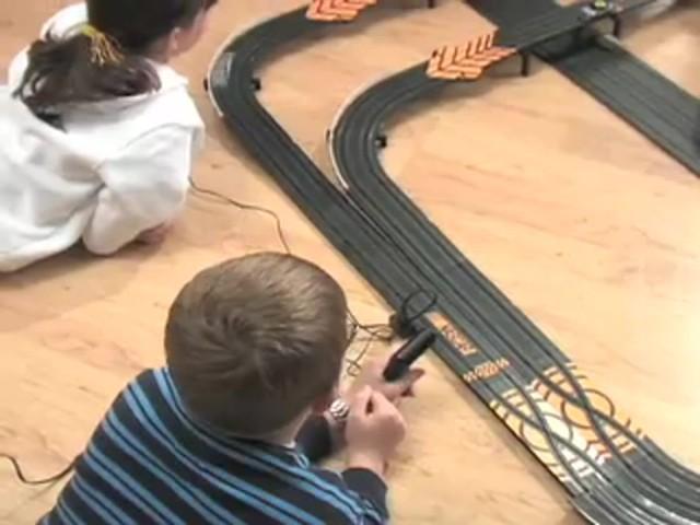Nascar  Lane Race Day Slot Car Set