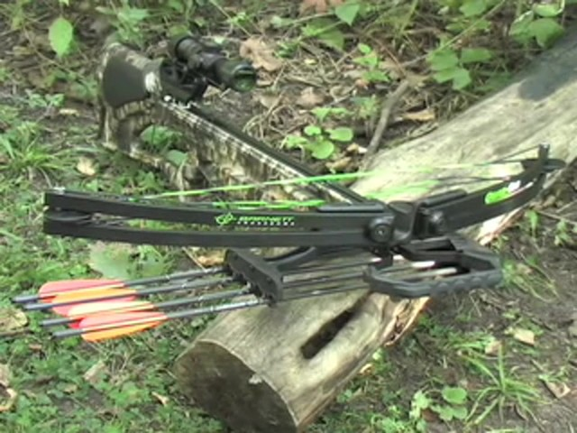 Barnett® Quad 400™ Crossbow Kit with 4x32 mm Multi - Reticle Scope - image 10 from the video