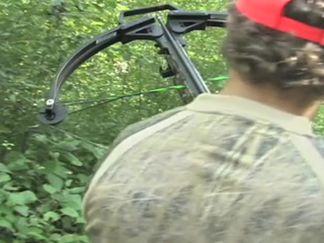 Barnett® Quad 400™ Crossbow Kit with 4x32 mm Multi - Reticle Scope - image 2 from the video