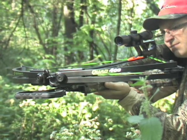 Barnett® Quad 400™ Crossbow Kit with 4x32 mm Multi - Reticle Scope - image 3 from the video