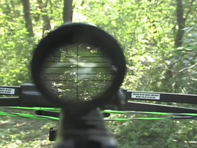 Barnett® Quad 400™ Crossbow Kit with 4x32 mm Multi - Reticle Scope - image 8 from the video