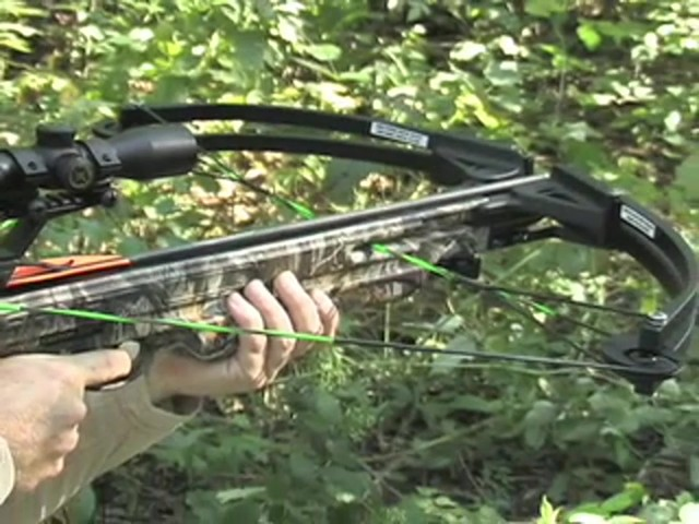 Barnett® Quad 400™ Crossbow Kit with 4x32 mm Multi - Reticle Scope - image 9 from the video