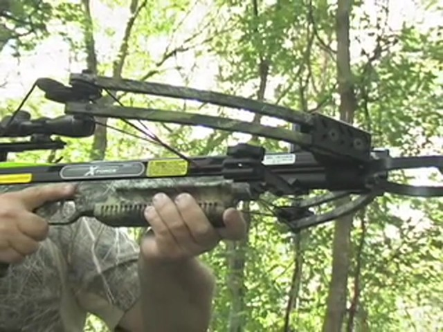 Carbon Express® X - Force™ 850 Pro Crossbow Kit - image 3 from the video