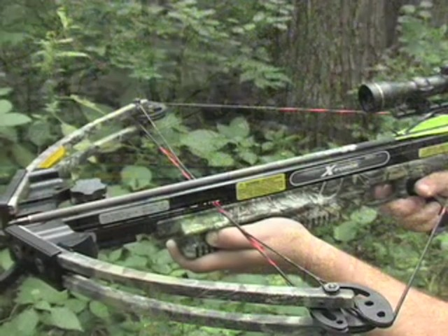Carbon Express® X - Force™ 850 Pro Crossbow Kit - image 4 from the video