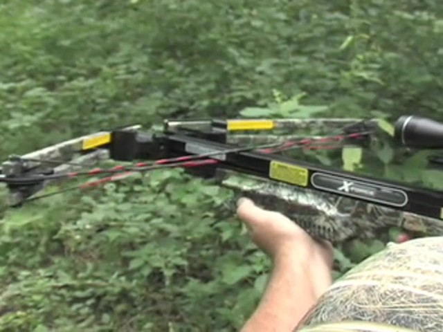 Carbon Express® X - Force™ 850 Pro Crossbow Kit - image 6 from the video