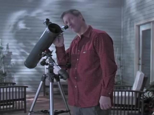 Celestron® AstroMaster 76EQ Telescope - image 2 from the video