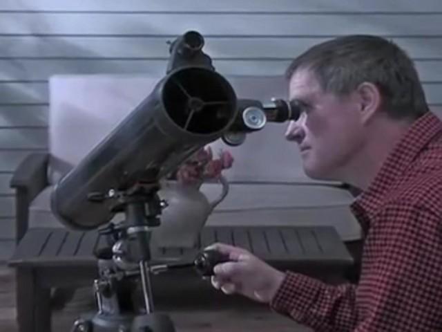 Celestron® AstroMaster 76EQ Telescope - image 3 from the video