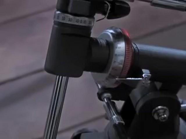 Celestron® AstroMaster 76EQ Telescope - image 6 from the video