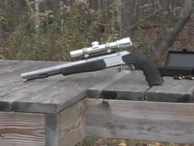Optima™ .50 cal. Black Powder Pistol - image 10 from the video
