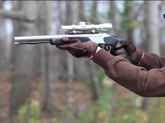 Optima™ .50 cal. Black Powder Pistol - image 4 from the video