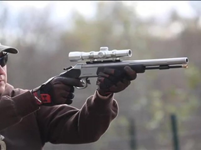Optima™ .50 cal. Black Powder Pistol - image 7 from the video