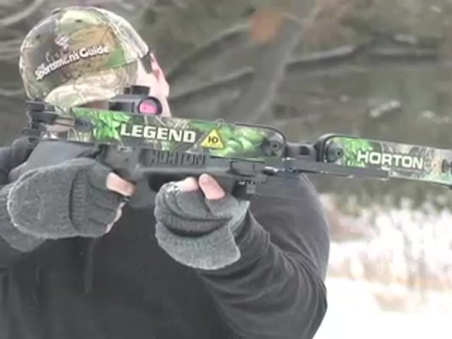 HORTON LEGEND 175 HD CROSSBOW  - image 3 from the video