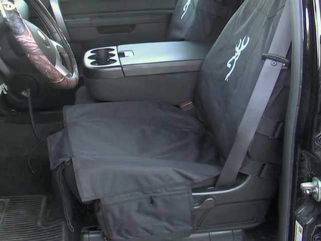 Browning® Tactical Seat Cover - image 1 from the video