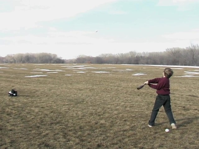 Axiom® Toss Master Soft Toss Pitching Machine - image 10 from the video