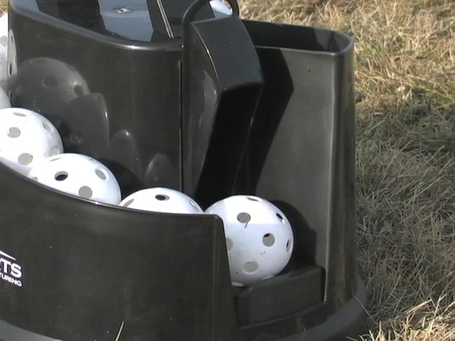 Axiom® Toss Master Soft Toss Pitching Machine - image 5 from the video