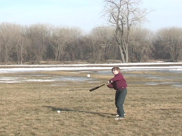 Axiom® Toss Master Soft Toss Pitching Machine - image 6 from the video