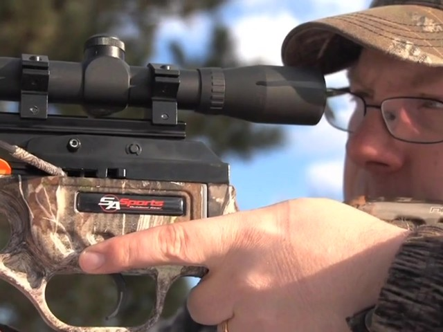 SA Sports® 175 - lb. Fever Crossbow Package - image 3 from the video