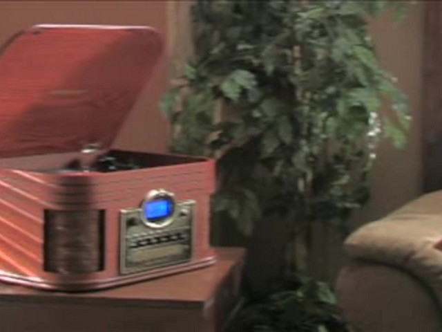Crosley® Nostalgic CD Recorder / Turntable / Radio / Cassette - image 10 from the video