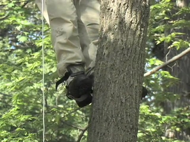 how to make a tree climbing lanyard