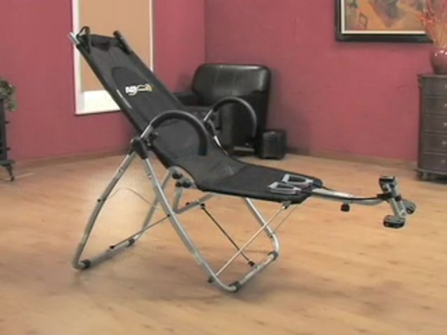 Fitness Quest® Ab Lounge XL Pro Black - image 10 from the video