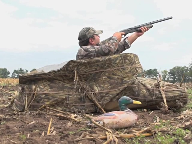 Lay Down Blinds >> Guide Gear® Deluxe Waterfowl Laydown Blind » Sportsman's Guide Video
