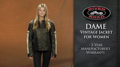 River Road Women S Dame Vintage Leather Jacket 98