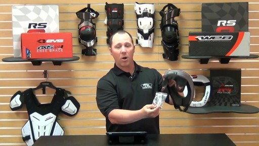 EVS Sports R3 Race Collar Review - image 6 from the video