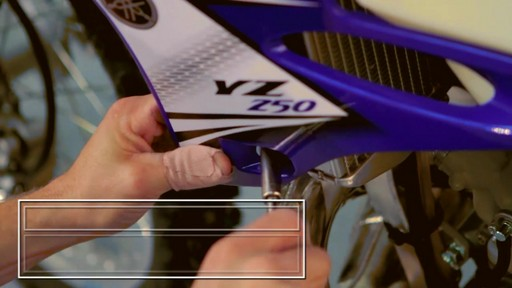 How to Install an Oversize Desert Tank on a Dirt Bike - image 3 from the video