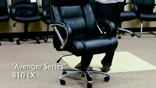 OFM_Avenger Series Big and Tall Executive Office Chair in Caresoft ...