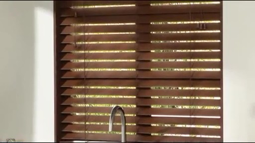 Levolor Faux Wood Blinds 187 Video Gallery